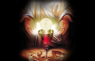 Eucaristia em grego: εὐχαριστία